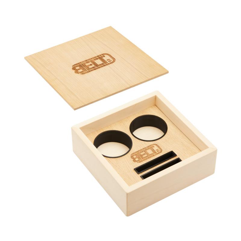 Wood Box for 2 BELTs